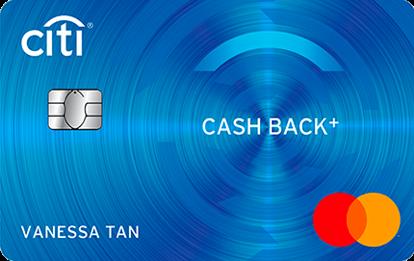 Citibank Cash Back+ Mastercard®